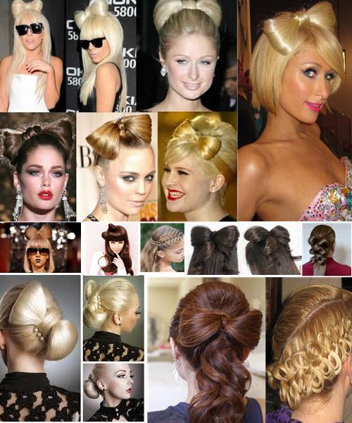 Как сделать бант из волос разными методами