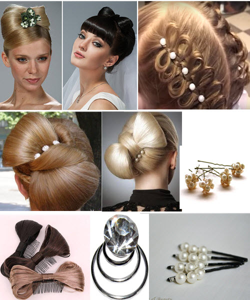 Как украсить прическу бантик из волос фото