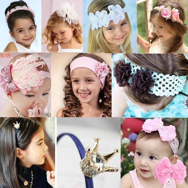 Аксессуары для детских причёсок