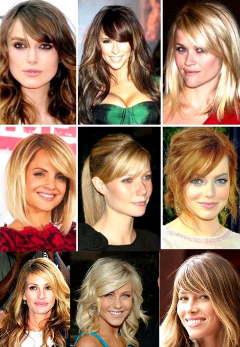Чёлки косые фото на короткие волосы