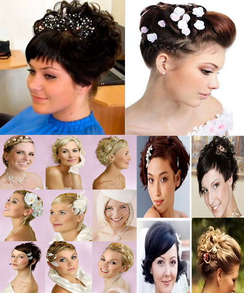 модные прически на свадьбу для гостей на средние волосы
