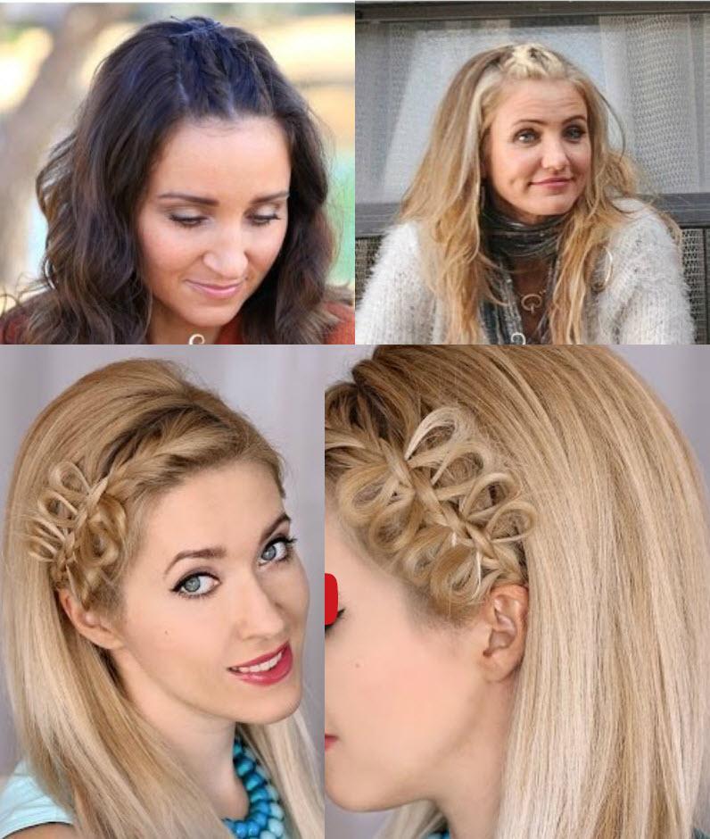 плетение французская и обратная коса