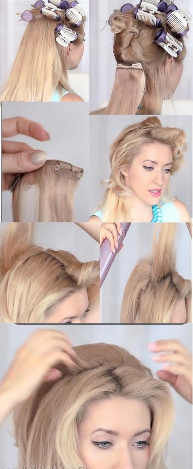 Фото как сделать прическу эльзы для девочек