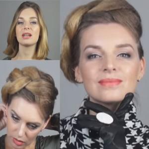 Как сделать косу объемной