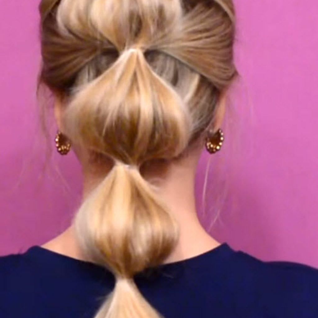 Волосы на резинке фото 12