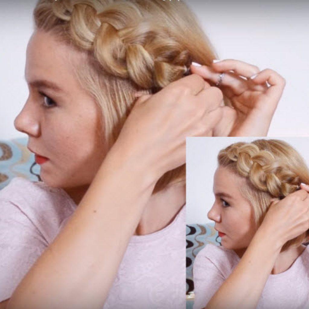 Видео как сделать прическу в школу самой себе за 5 минут