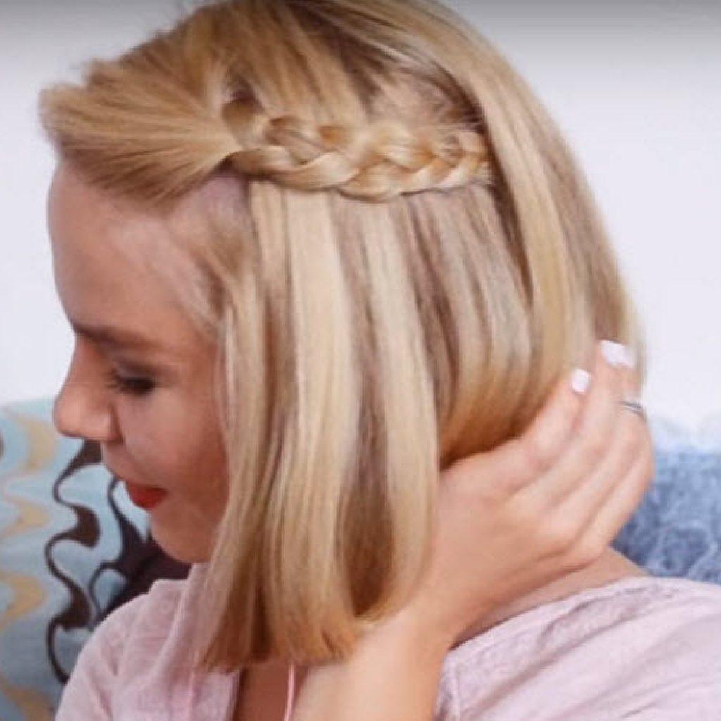 Делаем причёски в школу на каждый день за 5 минут на средние волосы с фото для 2,5 и 8 классов