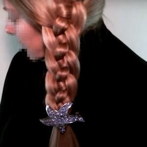 Коса из 4 прядей схема плетения и фото заплетенной на волосах