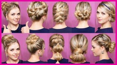 cf8d5d1cf71 Как сделать причёску в школу на каждый день самой себе за 5 минут — 20  инструкций с фото и видео на средние и короткие волосы