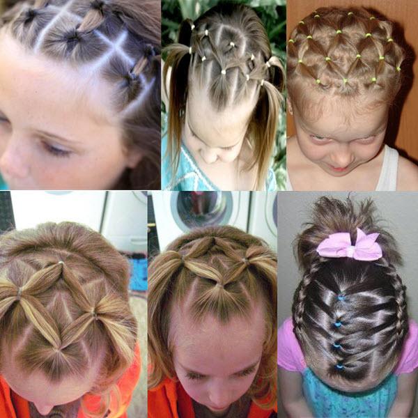 как красиво уложить челку с короткими волосами фото видео