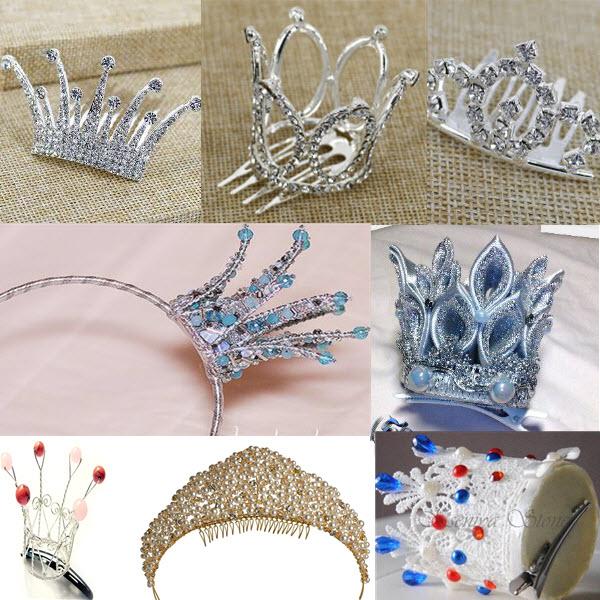Прически с диадемой, короной, тиарой на выпускной в детский сад, школу