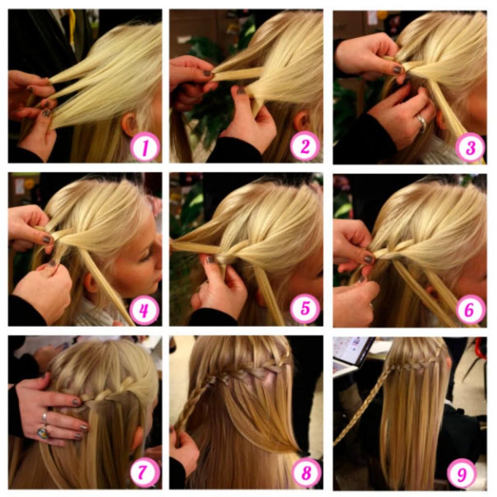 Плетение волос на короткие волосы пошагово