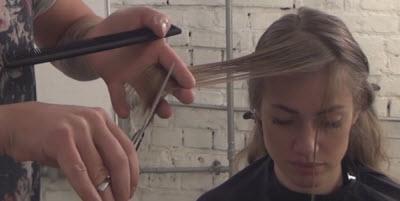 Как подстричь косую челку, разбираем ошибки