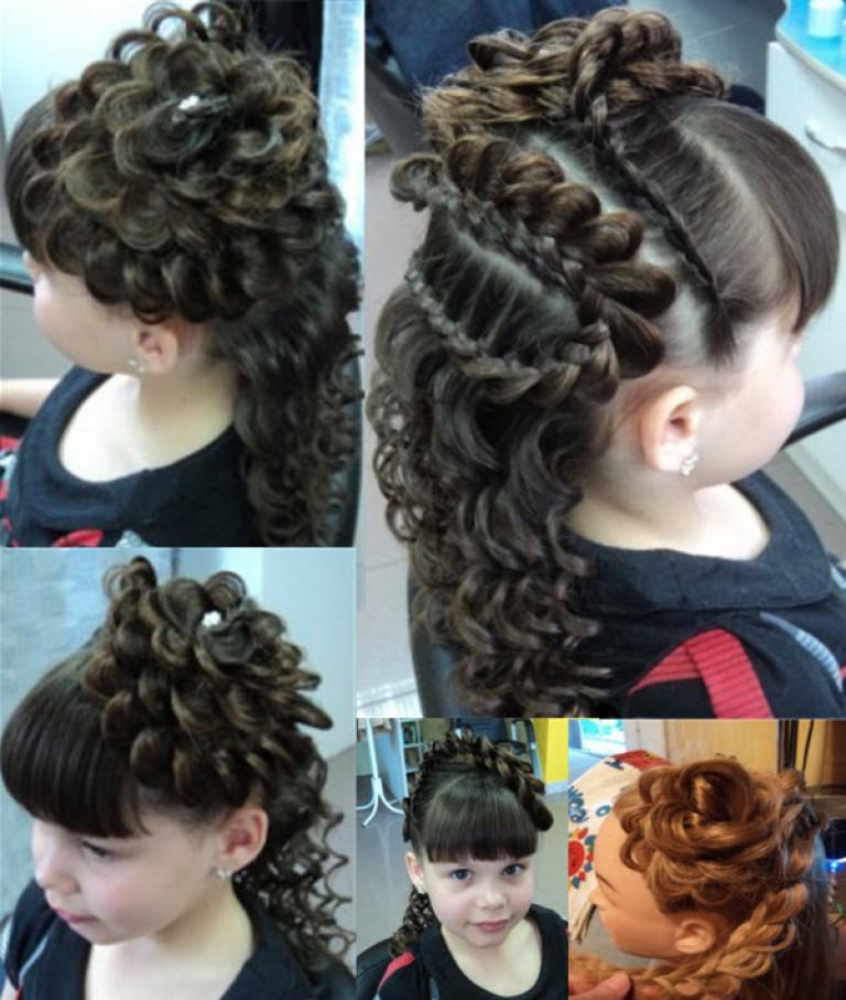 Фото причёсок на выпускной в 4 классе