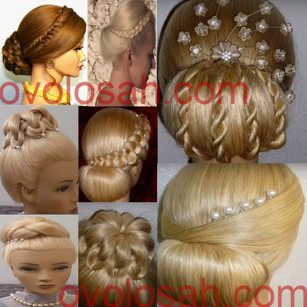 красивый пучок из волос: пошаговые инструкции для волос средней длины и длинных (фото, видео)