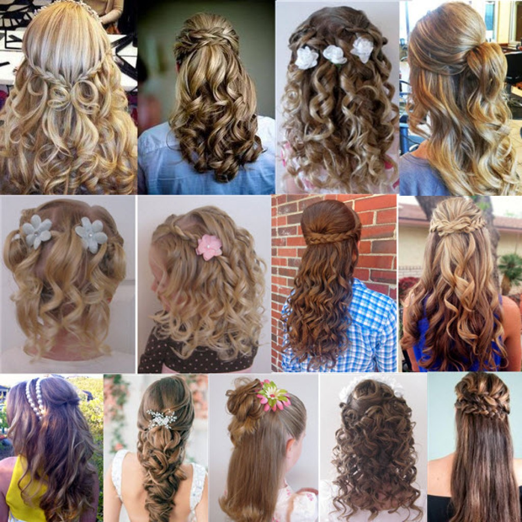 Прически на длинные волосы с распущенными волосами пошагово