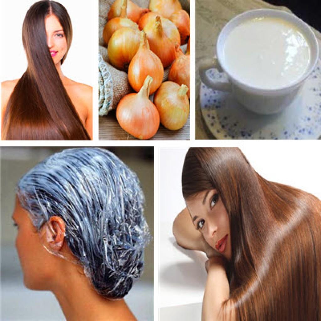 Как кефиром сделать волосы 949