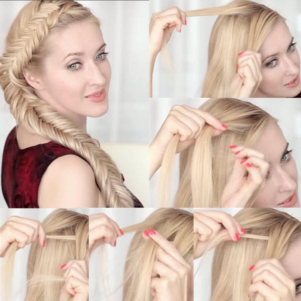 Как заплести косу самой себе: 9 пошаговых причесок с фото