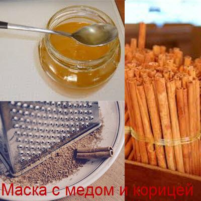 Как применять маску из меда и корицы